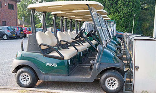 Thonock Park Golf buggy