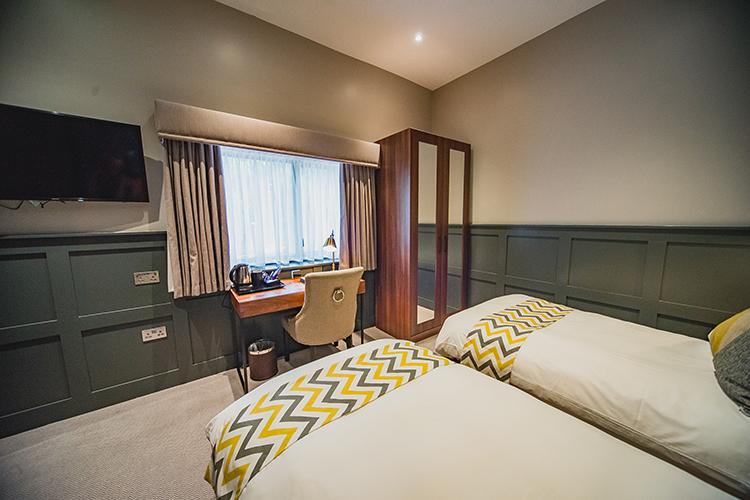 Thonock park twin bedrooms